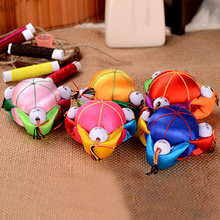 wholesale 10PCS Chinese HANDMADE Silk Sewing Tool vintage pin Cushion with 3 cute kids