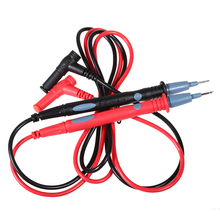 1 Pair universal 1000V 20A Banana 24K Gold Plated Multimeter Test Probe Set Leads Cable Pro for TL71 TL75 U1165A Rubber Shroude