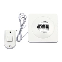 New Wired Doorbell Wired Alarm Doorbell Loud Sound Volume Door Bell Easy Installation Using In Raining Free Shipping