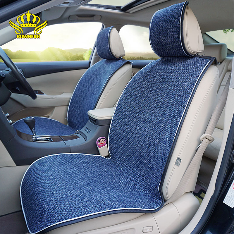 Luxury Car Protector,Universal Anti-Slip Driver Seat Cover with Backrest 1 PCS Car Seat Covers ,Beige