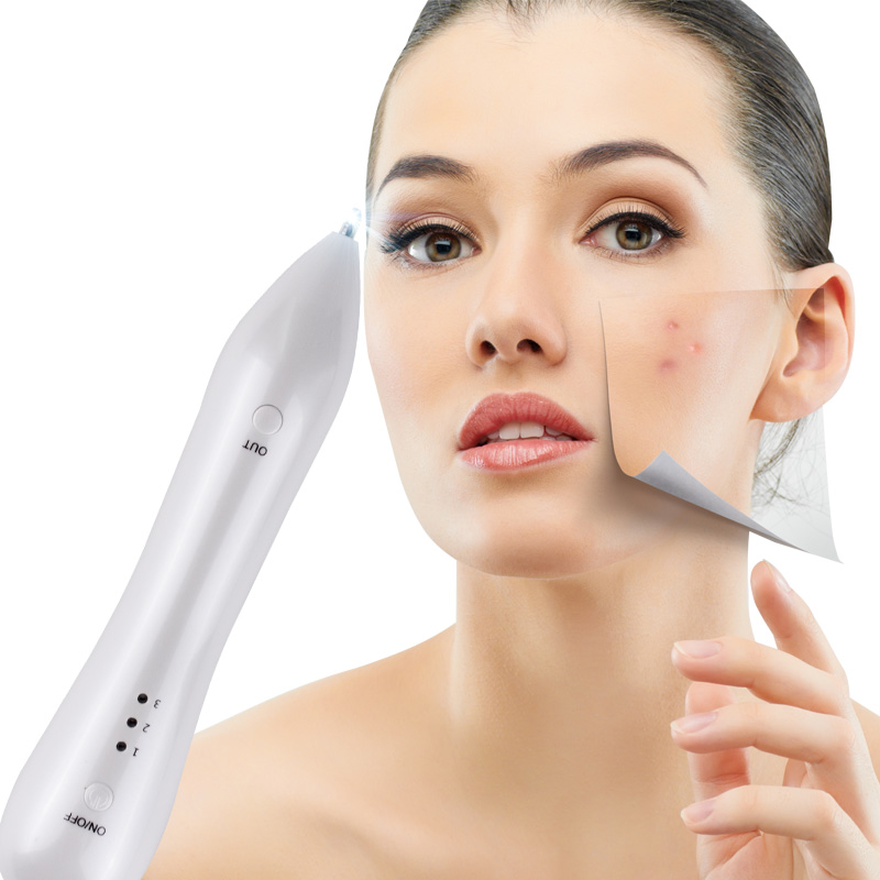 Painless Laser Freckle Removal Machine Skin Mole Removal Dark Spot Remover for Face Wart Tag Tattoo Removal Pen  Face Skin Care<br>