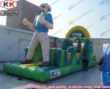 Giant Hunter Design Rush Inflatable Challenge Obstacle Course