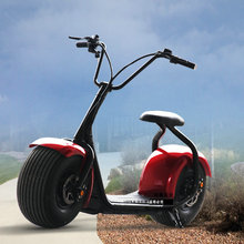 pk0301/Harley electric car / Two Round scooters /wide tires Zuma electric bike / 60V lithium battery/ Storage battery car