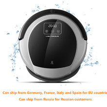 LIECTROUX Robot Vacuum Cleaner B6009,Map Navigation,Smart Memory,Suction 3000pa,Dual UV Lamps, Mopping, Robot aspirador(China)