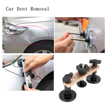 Bridge Dent Puller Kit Auto Body Dent Removal Tools Pops Dent & Ding PDR Tools Car Repair with 5pc Different Size PDR Glue Tabs(China)