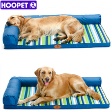 HOOPET Ultimate All Seasons Couch Style Headrest Edition Pillow Top Orthopedic Pet Bed for Dogs and Cats
