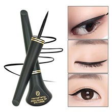 1 PCS HOT Women Cosmetic Beauty Black Eyeliner Waterproof Long lasting Eye Liner Pencil Pen Makeup