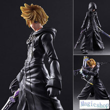 Boxed Kingdom Hearts 2 Play Arts Kai Sora Final Form PVC Action Figure Resin Collection Model Doll Toy Gifts Cosplay