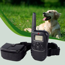 Waterproof Remote Anti Bark Dog Training Collar Rechargeable Vibration Shock Electronic Electric pet trainer Control Hot