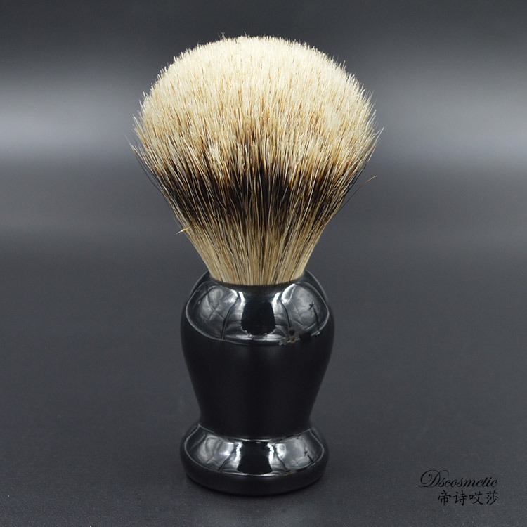 extra density silvertip badger hair shaving brush with resin handle mens grooming kit brush manufacturers<br>