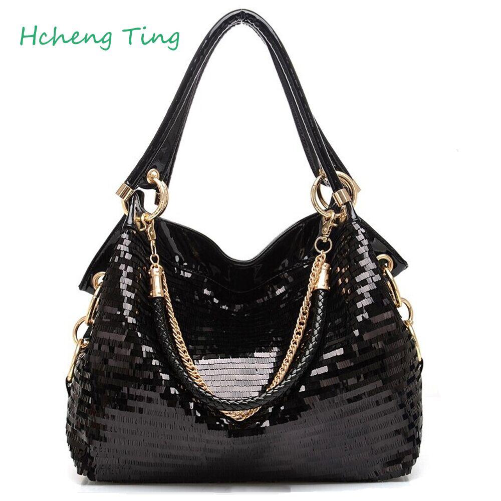 Designer Patent Leather Women Tote Bag Fashion Women Handbags Women Messenger Bags Bolsas<br>