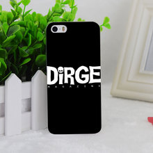 A2812 Dirge White Logo Shirt Transparent Hard Thin Case Cover For Apple iPhone 4 4S 5 5S SE 5C 6 6S 6Plus 6s Plus