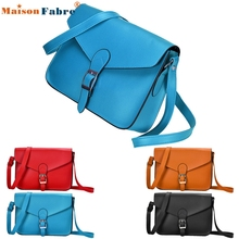 High quality Women Imitation leather Shoulder Bag Satchel Handbag Retro Messenger