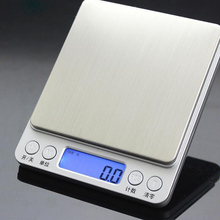 Digital kitchen scale display baking mini electronic pocket Kitchen food 1kg/0.1g two pallets - frank hu's store