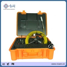 Vicam V8-1288TC tube video new camera drain pipe sewer inspection camera with 512Hz sonde cctv videos detector supplier(China)