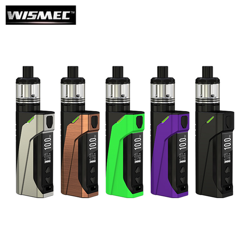 Original Wismec CB-60 Kit 60W CB-60 Box MOD 2300mAh Battery CB 60 Vape 2ML Amor NS Tank Atomizer MTL Vaping KIT