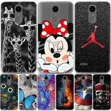Cool painted cover for LG K8 2017 EU Version case silicone soft tpu cartoon case for Lg K8 2017 back cover fundas Lg X240 case