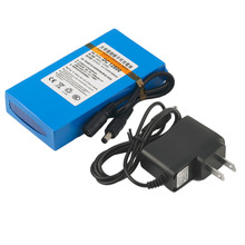 EU US Over Charge Protective DC 12V 8000MAH Li-ion Super Rechargeable Battery Backup Li-ion Battery For CCTV Camera