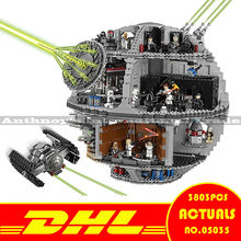 ZXS New LEPIN 05035 3803Pcs Star Wars Death Star Model Building figures Blocks Compatible 10188 ship by DHL