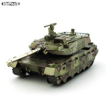 3D Metallic Puzzles Mass Effect Finger Rock Hand Assemble DIY Tank Kits Model Toys Gift WJ288