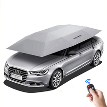 Quick Opening Outdoor Waterproof Protable Car Umbrella Canopy Sun Shade Camping Tent Anti-UV Sun shelter Car Cover Awning Tent(China)