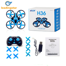 LeadingStar JJRC H36 RC Drone Mini Dron 2.4GHz 4CH 6 Axis Gyro RC Quadcopter with Headless Mode Drones Flying Helicopter For Kid(China)