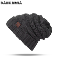 DARKAREA Fashion Women Hat Thick Men Winter Hat Knitted Winter Hat For Women Warm Female Skullies Beanies Ladies Cap Unisex Cap(China)