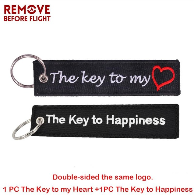 The-Key-to-Happiness-Keychains-for-Motorcycles-and-Cars-Gifts-Jacket-Tag-Keychain-Embroidery-The-Key.jpg_640x640