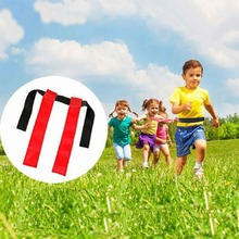 1pcs Kids Game Outdoor Playing Outside Running Chase Game Kit Streamer Ribbon Children Movement Fight Ability Medal Sport D412
