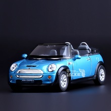 High Simulation Exquisite Diecasts&Toy Vehicles: Good Car Styling Convertible Mini Cooper S 1:28 Alloy Diecast Model Toy Car(China)