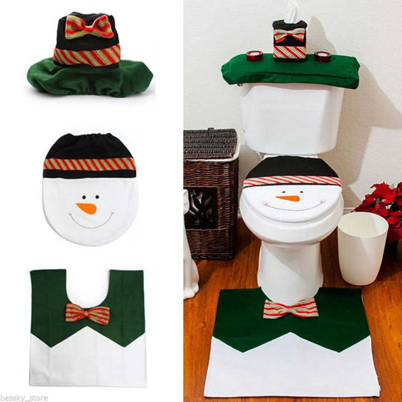 Holiday bathroom set