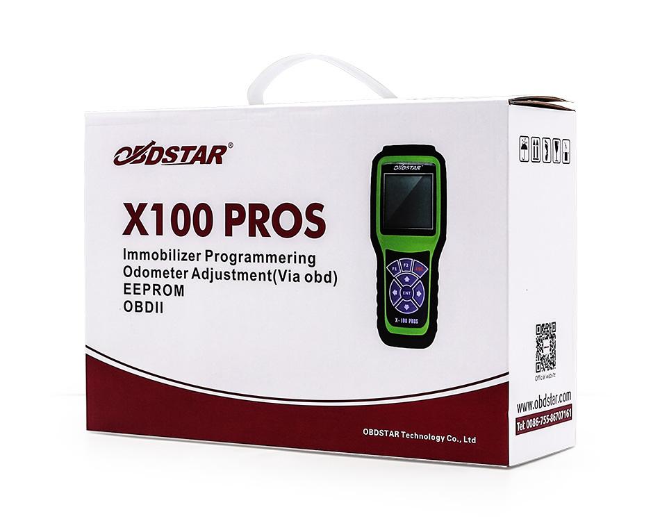 OBDSTAR X100 PROS C+D+E model SK43-K (10)