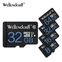 New Wellendorff memory cards 4GB 8GB 16GB 32GB 64GB 128GB usb micro sd card 32GB class 10 microsd TF cards free adapter