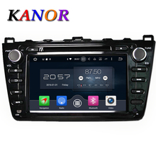 KANOR Octa Core Android 6.0 2G Car DVD GPS For Mazda 6 Ruiyi Ultra 2008 2009 2010 2011 2012 Autoradio Multimedia Audio Stereo(China)
