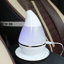 Car Mini Air Purifier Healthy Driving 2017 New Air Humidification Aromatherapy Aroma Essential Oil Diffuser Mist Maker Perfume(China)