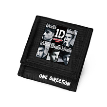 One Direction Wallet 1D Caretria Men Teenagers Gifts Carteira