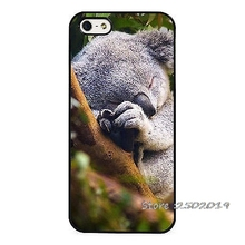 Sleeping Koala Bear Australia Phone Case Cover for iphone 4 5s 5c SE 6 6s 6plus 6splus Samsung galaxy s3 s4 s5 s6 s7 edge