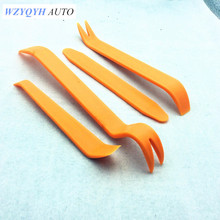 New 4pcs Auto Car Radio Panel Door Clip Trim Dash For Toyota/skoda/volkswagen Vw/suzuki/fiat/bmw/mazda/citroen/fiat Car Styling