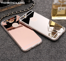Cases For iPhone 5 5s SE 6 6s 7 8 Plus X Luxury Mirror TPU Capa Soft Silicone Case Protector Shell Cover For iPhone 7 Plus 4 4S