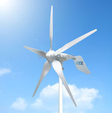 HYE HY-1500L-180V on grid/grid-tie 1.5kw/1500w wind turbine generator voltage output DC 180V 5 year warranty