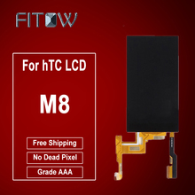 Fitow Brand 100% Tested LCD For HTC M8 One LCD Display Touch Digitizer Screen Glass Assembly Free Shipping(China)