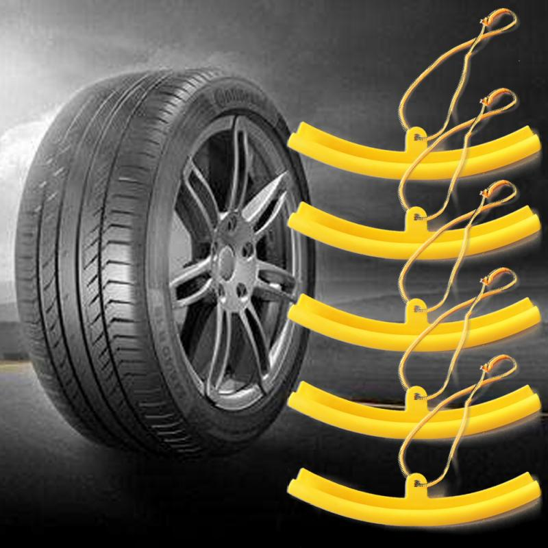 2 Pcs Yellow Color Alloy Wheel Rim Protector Tyre Remove Edge Cover Motorcycle