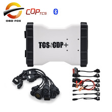 TCS CDP + Car Cables + Truck Cables Auto diagnostic tool cdp pro plus wth led V2014.3 version With bluetooth Carton box DHL free