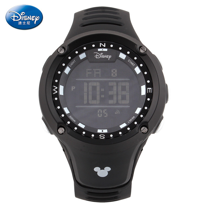 Disney brands man Digital Wristwatches Mickey sports waterproof male wristwatches Swim Men sports watches student boys digital<br><br>Aliexpress