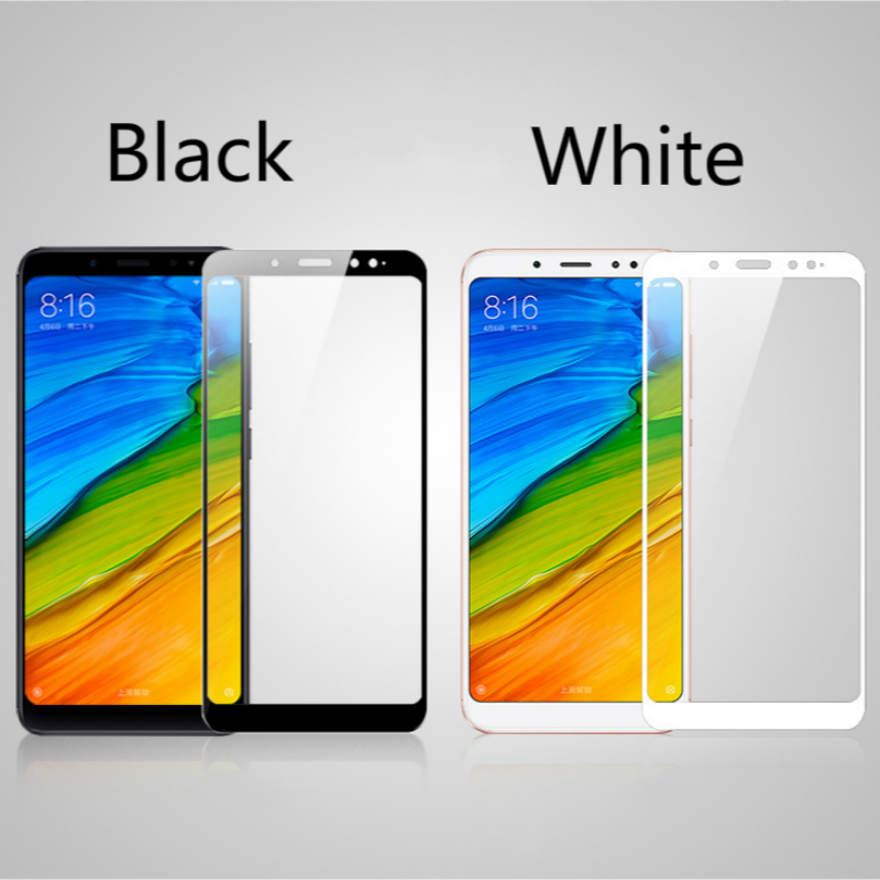 For xiaomi redmi note 5 Tempered Glass Full Cover 2.5D Screen Protector For redmi note 5 Pro Phone Glass Film For Xaomi Note5