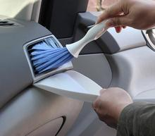 Car care multifunction vehicle interior cleaning tool broom and brush bucket combination Office computer cleaning brush tool