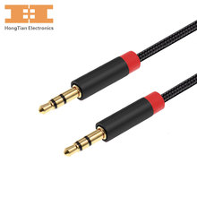 AUX cable 3.5mm Jack MALE TO MALE Audio cable jack 3.5 Auxiliary cable audio for car headphone tablet MP3/MP4 players 0.3M 1M 2M