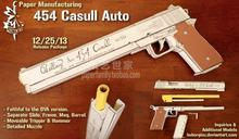 Casull revolver Hellsing 454 Casull Pistol Scale 1:1 Vampire Akat weapons could be handheld 3D paper model manual(China)