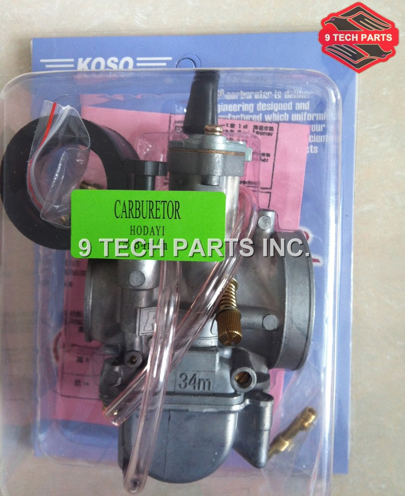 Super Performance KOSO PWK Carburetor CARB Motorcycle RACING PARTS Scooters dirt bike ATV 34mm(China (Mainland))