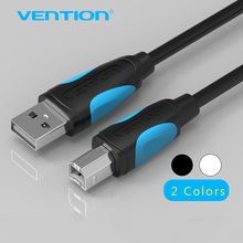 Vention USB 2.0 Print Cable USB 2.0 Type A Male To B Male Sync Data Scanner USB Printer Cable 1m 2m for HP Canon Epson Printer(China)